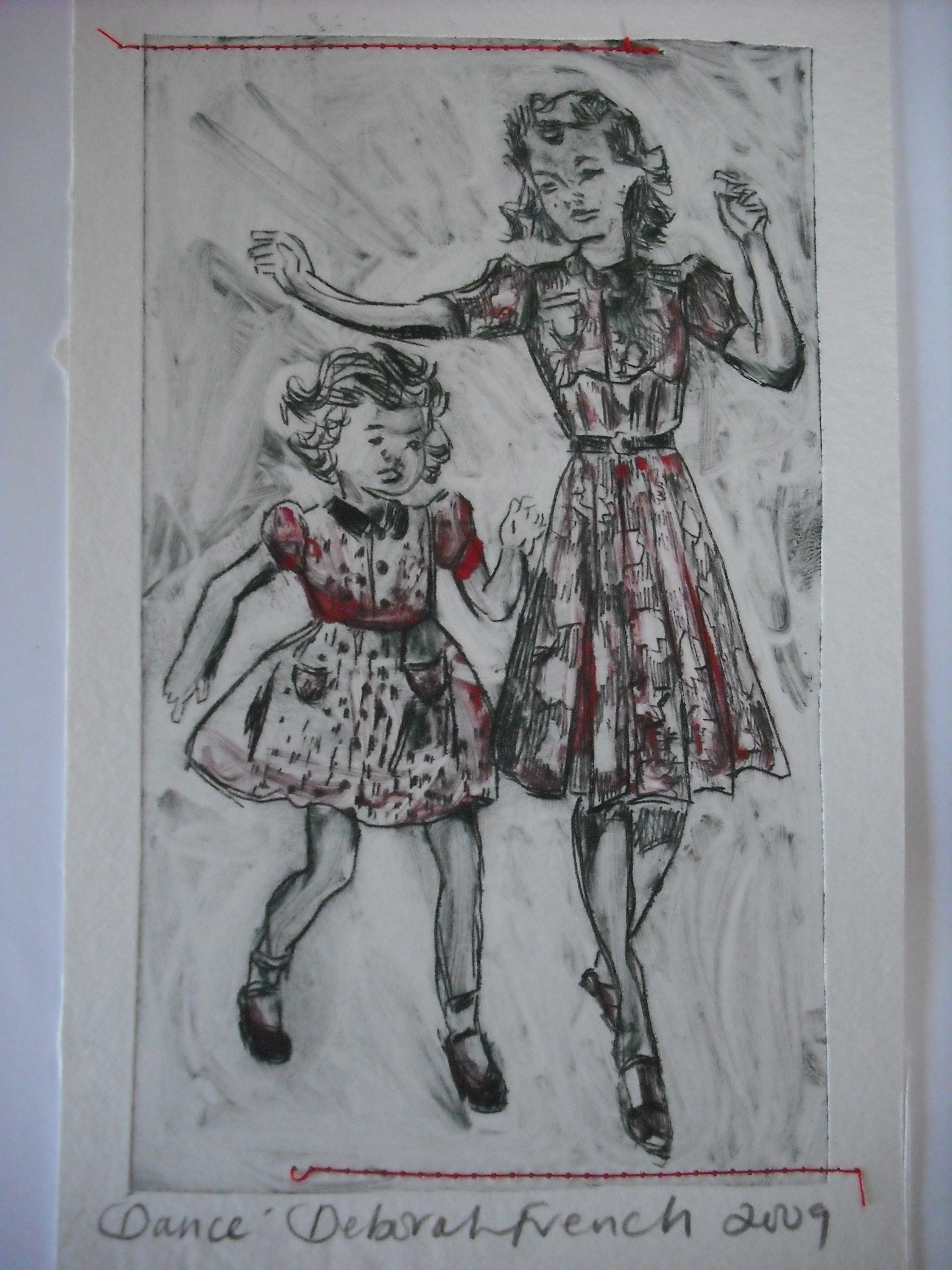 Dance Drypoint Deborah French